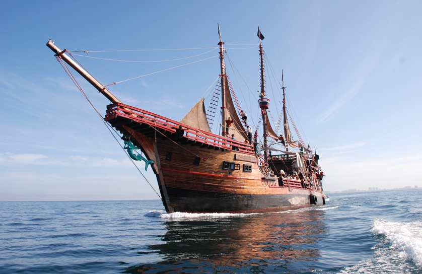 The Marigalante Pirate Ship in Puerto Vallarta