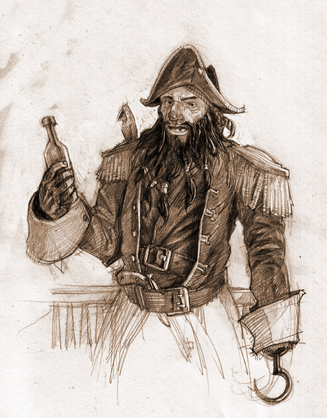 Why were pirates always drunk?