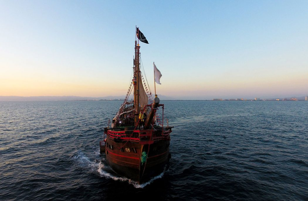 The Marigalante Pirate Ship
