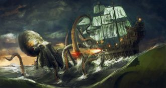 Legends of the Deep - Sea Monsters
