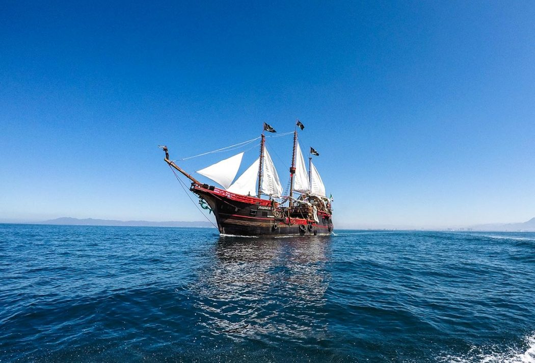 Get To Know the Marigalante: Puerto Vallarta's Pirate Ship