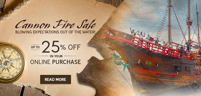 pirate ship day tour