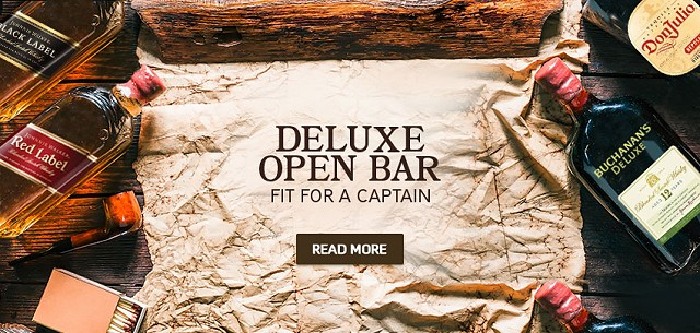 deluxe open bar pirate ship vallarta