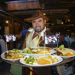 dinner pirate ship marigalante