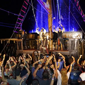 pirate show marigalante puerto vallarta pirates of the bay